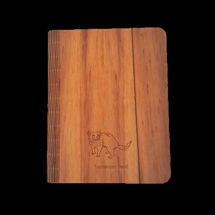 Blackwood Veneer Notebook Cover