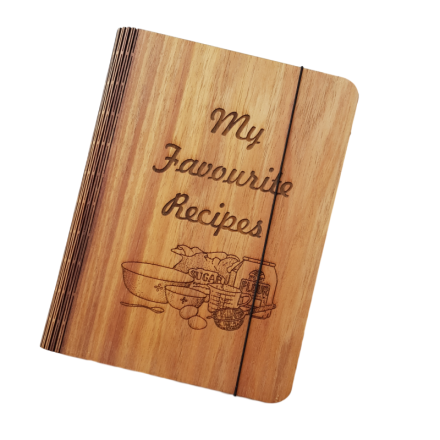 Blackwood Veneer Recipe Book Cover