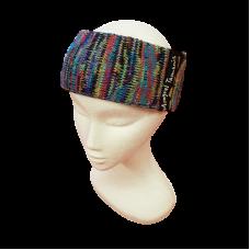 Pure Wool Head Warmer - Blues