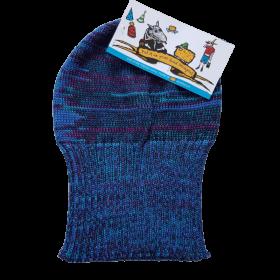 Tasmanian Pure Merino Wool Beanie - Blues