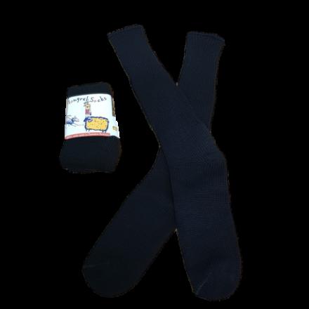 Pure Wool Socks - Black