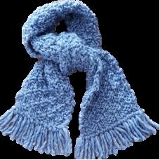 Scarf - Dusky Blue
