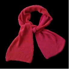 Pure Merino Wool Long Scarf - Fuchsia