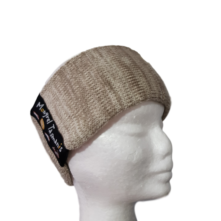 Pure Wool Headwarmer - Oatmeal