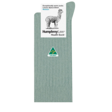 Alpaca Wool Blend Health Socks - Lichen