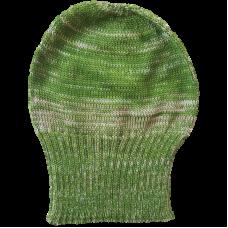 Tasmanian Pure Merino Wool Beanie - Lime Green & Fawn