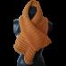 Pure Wool Handknitted Scarf - Mustard