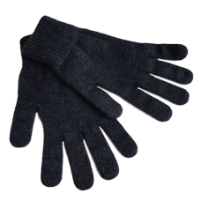 Possum Silk Grey Gloves