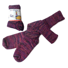 Pure Wool Socks - Multi Pinks