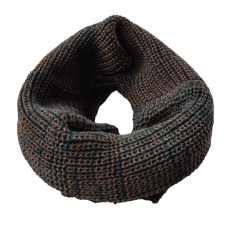 Pure Wool Neck Warmer - Forest