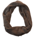 Pure Merino Wool Infinity Scarf - Forest Fleck