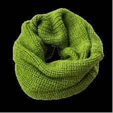 Pure Wool Neckwarmer -Lime Green