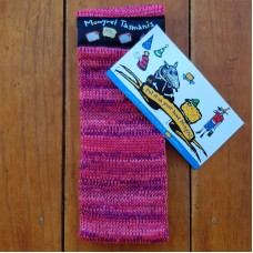 Pure Wool Headwarmer - Pinks