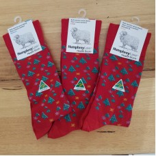 Health Wool Blend Christmas Socks