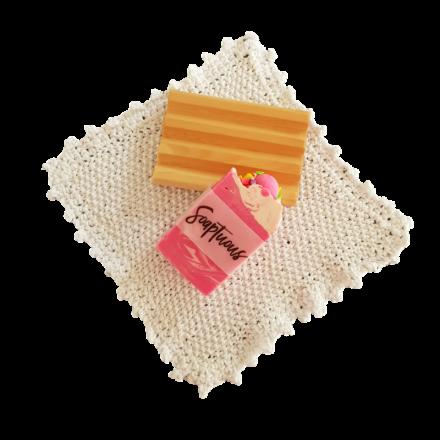 Huon Pine Soap Holder Gift Pack - White Washer