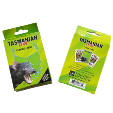 Tasmanian Devil Playing Cards