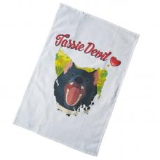 Tassie Devil Tea Towel