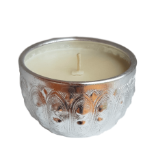 Hand Poured Candle in Blessing Bowl