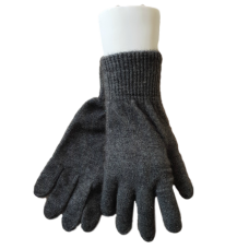 Possum Fur & Merino Wool Gloves - Grey
