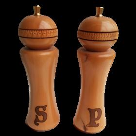 Huon Pine Salt & Pepper Grinders - Small