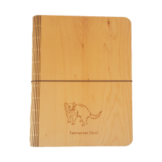 Huon Pine Veneer Notebook Cover