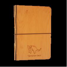 Small Huon Pine Veneer Notebook Cover