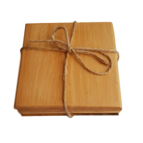 Huon Pine Coasters - Set of 4