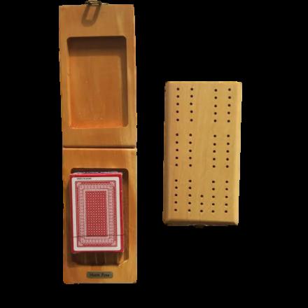 Huon Pine Cribbage Board