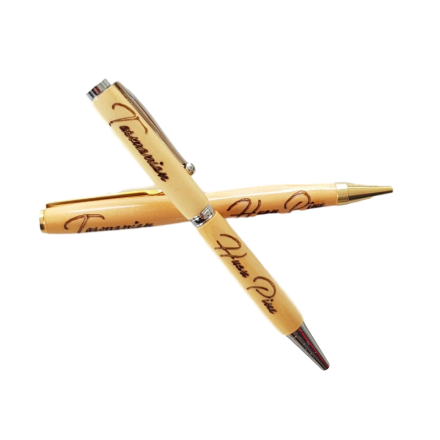 Huon Pine Pen with Engraving