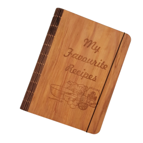 Myrtle Veneer Recipe Book Cover