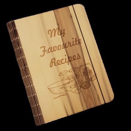 Sassafras Veneer Recipe Book Cover