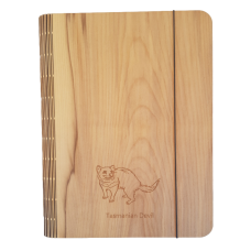 Sassafras Veneer Notebook Cover