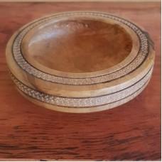 Small Sassafras Bowl with Decorative Edge