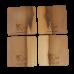 Sassafras Boxed Coasters - Tasmanian Devil